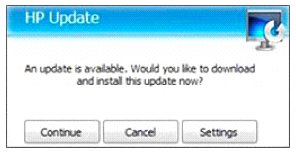 How to Disable HP Updates