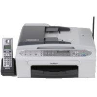 Brother IntelliFax 2580c printing supplies
