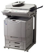 Hewlett Packard Color LaserJet 8550 mfp printing supplies