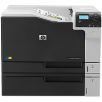 Hewlett Packard Color LaserJet Enterprise M750dn printing supplies