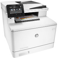 Hewlett Packard Color LaserJet Pro MFP M477fdw printing supplies