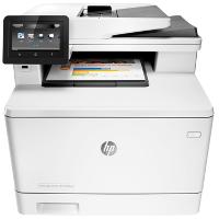 Hewlett Packard Color LaserJet Pro MFP M477fnw printing supplies