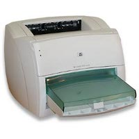 Hewlett Packard LaserJet 1000w printing supplies