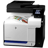 Hewlett Packard LaserJet Pro 500 Color MFP M570dn printing supplies
