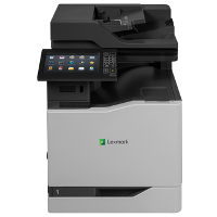 Lexmark CX825de printing supplies