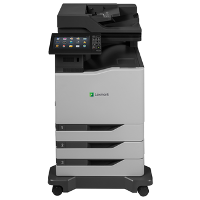 Lexmark CX825dte printing supplies