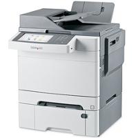 Lexmark X548dte printing supplies