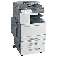 Lexmark XS955dhe printing supplies