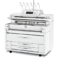 Lanier LW411 printing supplies