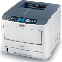 Okidata C610n printing supplies