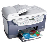 Hewlett Packard OfficeJet D135xi printing supplies