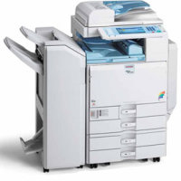 Ricoh Aficio MP C4500A printing supplies