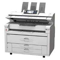 Ricoh Aficio MP W7140 printing supplies