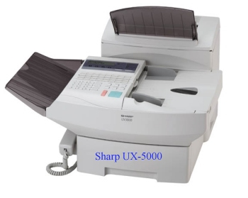 Sharp UX-5000 Pro Laser printing supplies