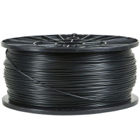 Black 1.75mm 1kg PLA Filament for 3D Printers
