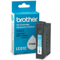 Brother LC-01C ( Brother LC01C ) Cyan Inkjet Cartridge