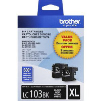 Brother LC1032PK InkJet Cartridge Dual Pack