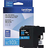 Brother LC103C InkJet Cartridge