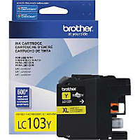 Brother LC103Y InkJet Cartridge