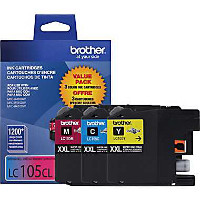 Brother LC1053PKS InkJet Cartridge Combo Pack