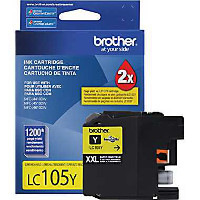 Brother LC105Y InkJet Cartridge