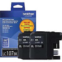 Brother LC1072PKS InkJet Cartridge Dual Pack