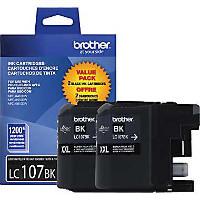 Brother LC1072PKS InkJet Cartridge Dual Pack