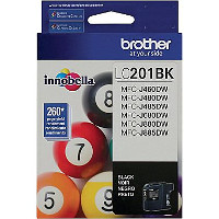 Brother 201BK Inkjet Cartridge