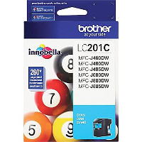 Brother 201C Inkjet Cartridge