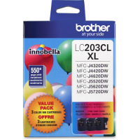 Brother LC2033PKS InkJet Cartridges Value Pack