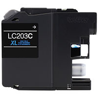 Brother LC203C Compatible InkJet Cartridge