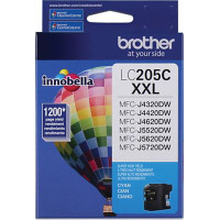 Brother LC205C InkJet Cartridge
