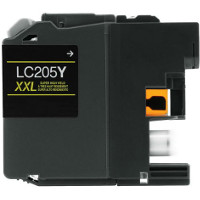 Brother LC205Y Compatible InkJet Cartridge