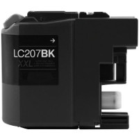 Compatible Brother LC-207BK ( LC207BK ) Black Inkjet Cartridge