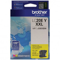 Brother LC20EY Inkjet Cartridge