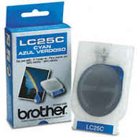 Brother LC25C Cyan InkJet Cartridge