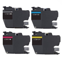 Compatible Brother LC-3013BK / LC-3013C / LC-3013M / LC-3013Y Inkjet Cartridge MultiPack