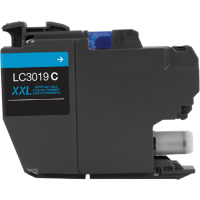 Compatible Brother LC-3019C ( LC3019C ) Cyan Inkjet Cartridge