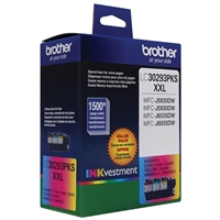 Brother LC30293PK Inkjet Cartridge 3-Pack
