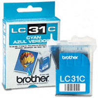Brother LC31C Cyan InkJet Cartridge