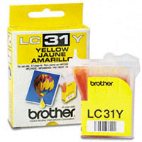 Brother LC31Y Yellow InkJet Cartridge