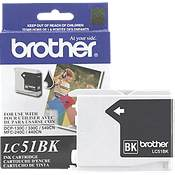 Brother LC51BK ( Brother LC-51BK ) InkJet Cartridge