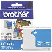 Brother LC51C ( Brother LC-51C ) InkJet Cartridge