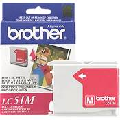 Brother LC51M ( Brother LC-51M ) InkJet Cartridge