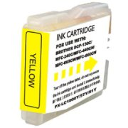 Compatible Brother LC-51Y ( LC51Y ) Yellow Inkjet Cartridge