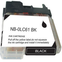 Brother LC61BK Compatible InkJet Cartridge