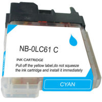 Brother LC61C Compatible InkJet Cartridge