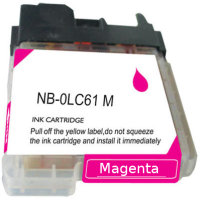 Brother LC61M Compatible InkJet Cartridge