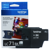 Brother LC71BK ( Brother LC-71BK ) InkJet Cartridge