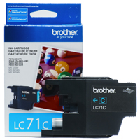 Brother LC71C ( Brother LC-71C ) InkJet Cartridge
